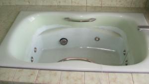 人工大理石浴槽施工前