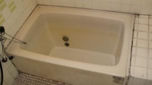 ポリ浴槽施工前