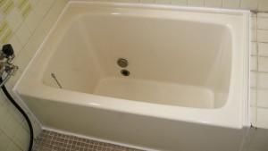 ポリ浴槽塗装完了