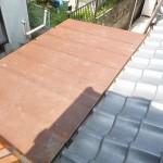 屋根板金葺き替え前
